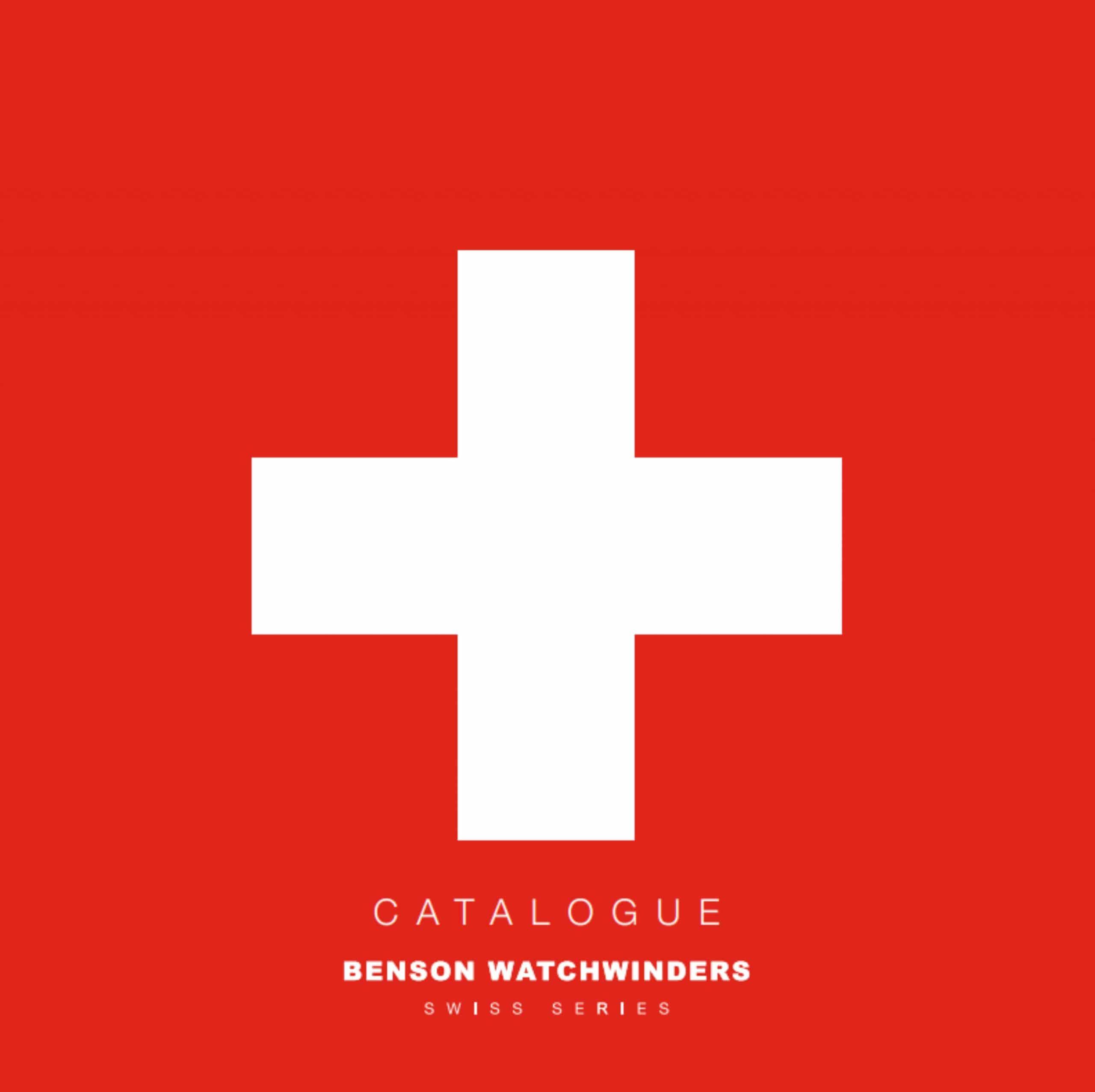 Benson_Swiss_Series_Catalogue_Cover